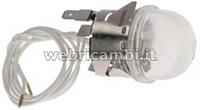 Picture of Cod. 44966 -  LAMP RECEPTACLE WITH LAMP G4 16W 12V