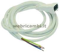 Foto de Cod. 47192 - CABLE TRIPOLAR CON CONECTOR 1500 mm.