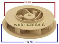 Picture of Cod. 40112 - IMPELLER